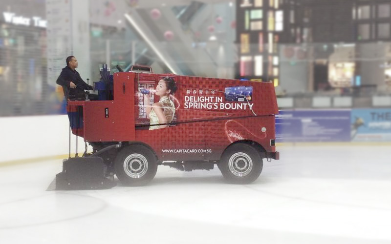 Zamboni Ice Resurfacer Wrap | The Rink