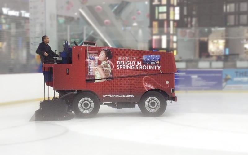 Zamboni Ice Resurfacer Wrap | The Rink