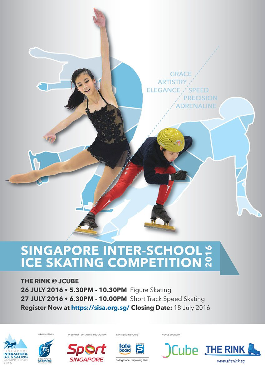 5e9ab10c37 Singapore Inter-School Ice Skating Competition 2016