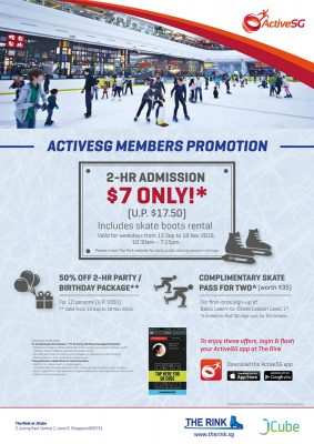 ActiveSG Members Promotion – 2016