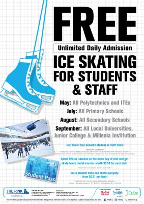 Free Ice Skating Admission – 2015