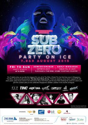 Sub Zero Party On Ice – 2015