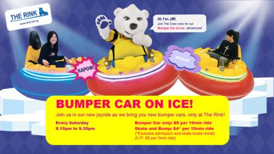Bumper Car on Ice!