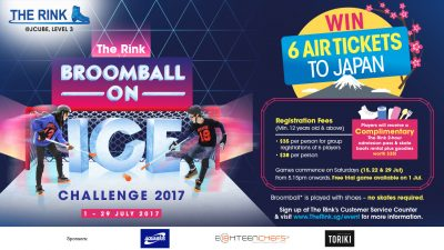 Broomball on Ice Challenge 2017
