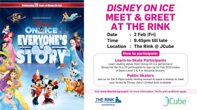 <em>Disney on Ice</em>Meet &#038; Greet
