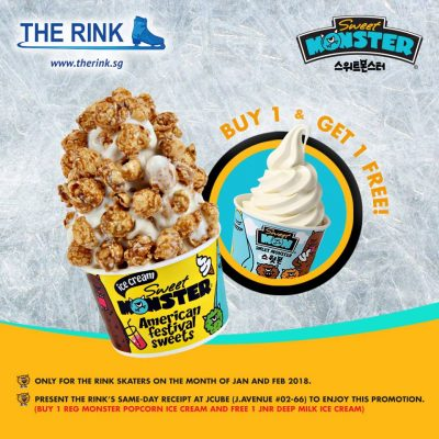 Sweet Deals for The Rink's Skaters