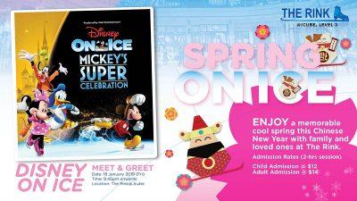 Disney on Ice Meet & Greet